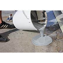Betonoberflächen-Reparatursystem, flüssig, grau