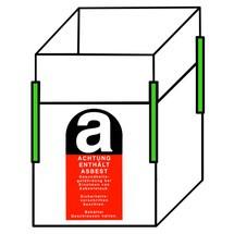Big Bag Transportsack Asbest, mit 4 Hebeschlaufen