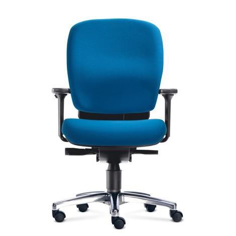 Biurowe krzesło obrotowe PROFI z siedziskiem odciążającym dyski międzykręgowe