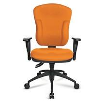 Biurowe krzesło obrotowe Topstar® Synchro z oparciem siatkowym