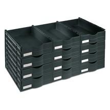 Bloc de tiroirs C+P pour armoires à portes battantes