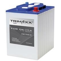 Blockbatterie F08, Blei-Säure, 6 V