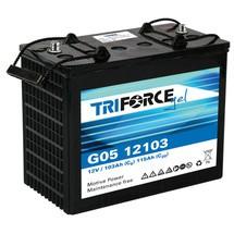 Blockbatterie G05, Blei-Gel, 12 V