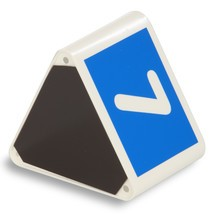 Blok met richtgetallen voor goederenverkeer binnen het bedrijf