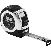 BMI Taschenrollbandmaß chrom