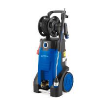 Blauer Hochdruckreiniger mit Drehstromanschluss