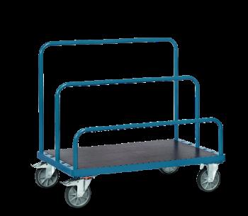 Plattenwagen mit Einsteckmöglichkeiten