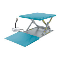 Scheren-Hubtisch mit geschlossener Fläche