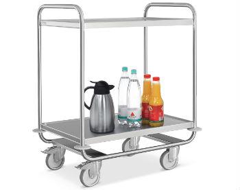 Servierwagen mit Getränken
