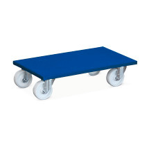 Blauer Transportroller