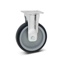 Bockrolle Apparate-Rolle aus Polypropylen, spurlos. Tragkraft 75 - 100 kg
