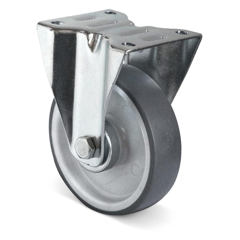 Bockrolle Basic Thermoplast, spurlos. Tragkraft 90 - 235 kg