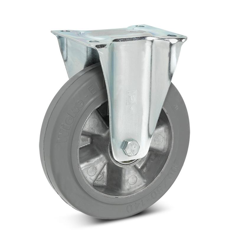 Bockrolle Wicke Premium aus Elastik-Vollgummi, spurlos. Tragkraft 180 - 350 kg