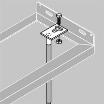 Bodenanker-Set für Fahrradständer