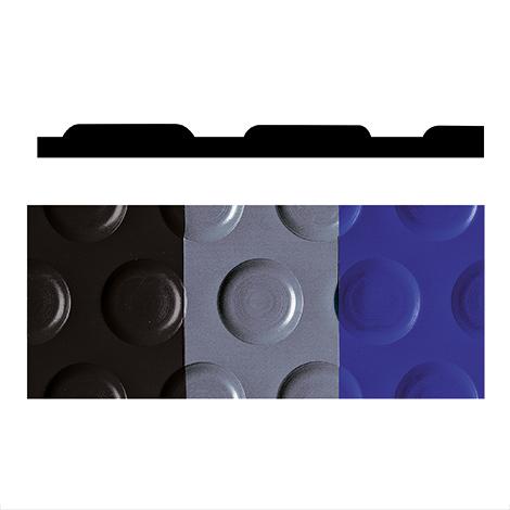 Bodenbelag mit Noppen aus Vinyl