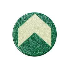 Bodenmarkierungspfeil, grün-nachleuchtend