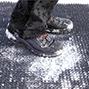 Bodenmatte für Grobschmutz aus Polyethylen
