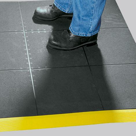 Bodenplatten-System aus Kautschuk