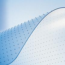 Bodenschutzmatten Rollt & Schützt® für Teppichböden, Stärke 2,5mm