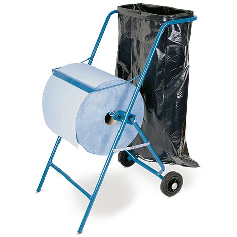 Bodenständer mit Müllsackhalterung