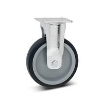 Bokwiel apparaatwiel van polypropyleen, niet-strepend. Capaciteit 75- 100 kg