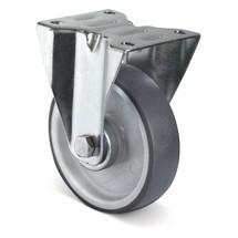 Bokwiel Basic Thermoplast, niet-strepend. Capaciteit 90- 235 kg