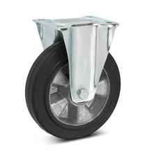 Bokwiel Wicke van elastisch massief rubber, aluvelg