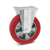 Bokwiel Wicke® van soft-polyurethaan. Capaciteit 200- 300 kg