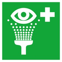 Bord oogspoelstation
