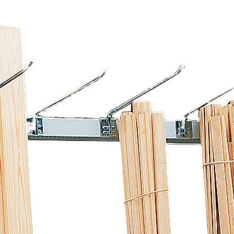 Braccetto divisore per scaffalatura verticale META