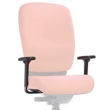 Bracciolo per sedia girevole con sostegno della colonna vertebrale PROFI