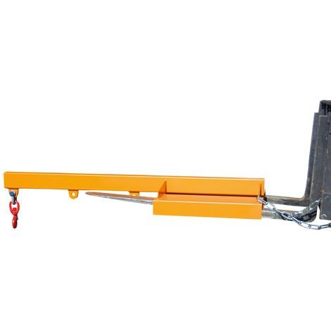 Braço de carga modelo 1, versão rígida, 3 posições de gancho