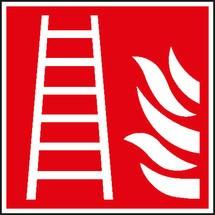 Brandbeveiligingsbord brandladder