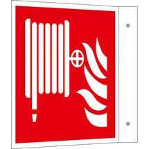Brandbeveiligingsbord – Brandslang, vlagmodel