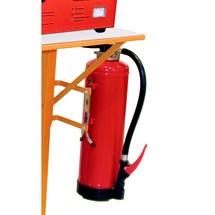 Brandblusapparaat voor acculaadstation