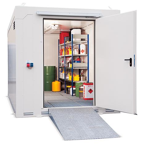 Brandschutz-Container F90