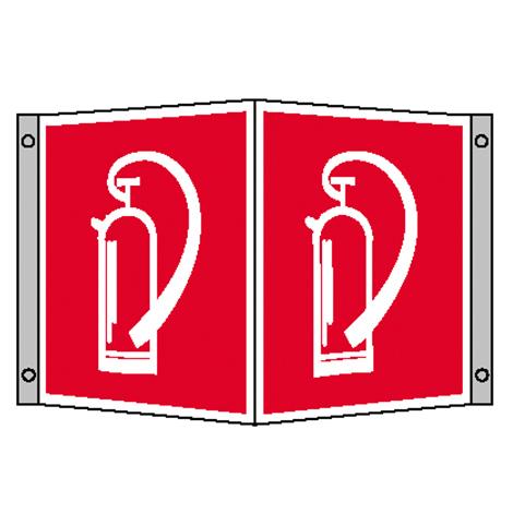 Brandschutz-Winkelschild Feuerlöscher