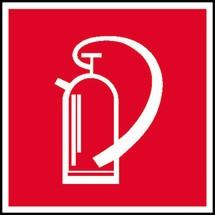 Brandschutzschild – Feuerlöscher