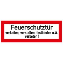 Brandschutzschild –