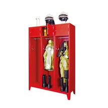 Brandweerkast met poten. 2 tot 4 compartimenten