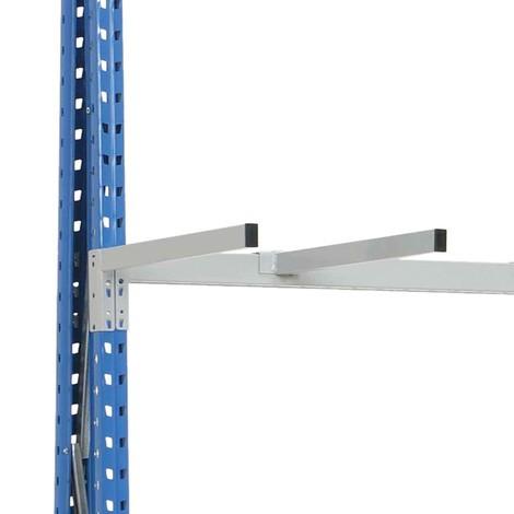 Bras de séparation pour rayonnage vertical
