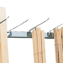 Bras de séparation pour rayonnage vertical META