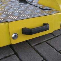 Breder chassis voor Ameise® 1000 elektrische transportrol