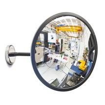 Breedhoekspiegel DETEKTIV, magneetbevestiging
