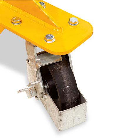 Breitspur-Hydraulik-Stapler Ameise® - Hub bis 1600 mm, Tragkraft 1000 kg