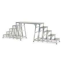 Brugmodule voor modulaire aluminium werkplatformen