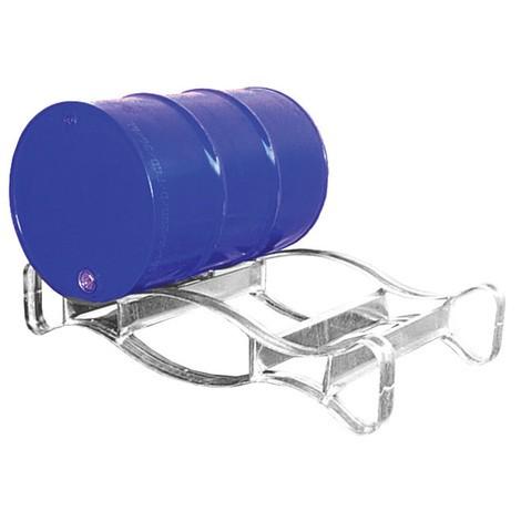 bubnová paleta pre 2x 200-litrové sudy