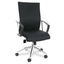 Bürodrehstuhl mit Muldensitz und bequemer Knierolle