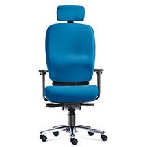 Bürodrehstuhl PROFI L. Ideal ab einer Körpergröße von 1800 mm