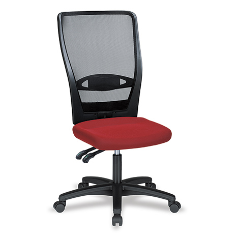 Bürodrehstuhl Prosedia Aktiv. Mit Netz-Rückenlehne 700 mm